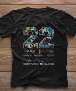 Pretty 22 Years Of Harry Potter 1997 2019 thank you for the memories shirt 1 1 247x296 - Pretty 22 Years Of Harry Potter 1997-2019 thank you for the memories shirt