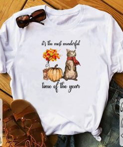 Pretty Autumn cats it s the most wonderful time of the year shirt 1 1 247x296 - Pretty Autumn cats it's the most wonderful time of the year shirt