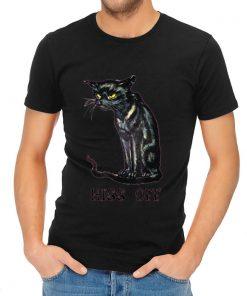 Pretty Cat Hiss Off Black Cat Halloween shirt 2 1 247x296 - Pretty Cat Hiss Off - Black Cat Halloween shirt