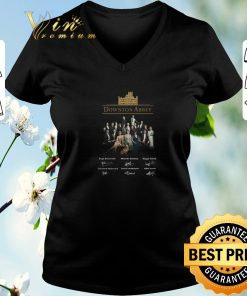 Pretty Downton Abbey all character signatures shirt sweater 2 1 247x296 - Pretty Downton Abbey all character signatures shirt sweater