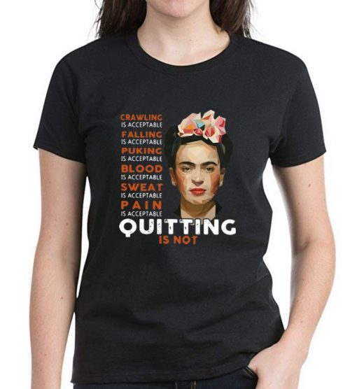 Pretty Frida Kahlo Crawling Is Acceptable Falling Puking Blood shirt 3 1 510x556 - Pretty Frida Kahlo Crawling Is Acceptable Falling Puking Blood shirt