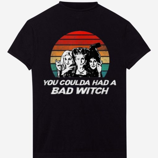 Pretty Hocus Pocus You Coulda Had A Bad Witch Vintage Sunset shirts 1 1 510x510 - Pretty Hocus Pocus You Coulda Had A Bad Witch Vintage Sunset shirts