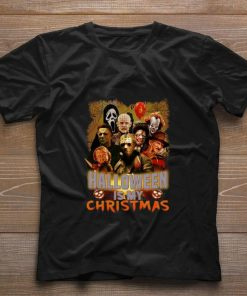 Pretty Horror movie characters halloween is my Christmas shirt 1 1 247x296 - Pretty Horror movie characters halloween is my Christmas shirt