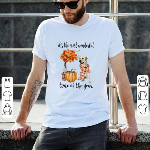 Pretty It s The Most Wonderful Time Of The Year Labrador Pumpkin shirt 2 1 510x510 - Pretty It's The Most Wonderful Time Of The Year Labrador Pumpkin shirt