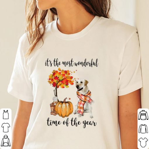 Pretty It s The Most Wonderful Time Of The Year Labrador Pumpkin shirt 3 1 510x510 - Pretty It's The Most Wonderful Time Of The Year Labrador Pumpkin shirt