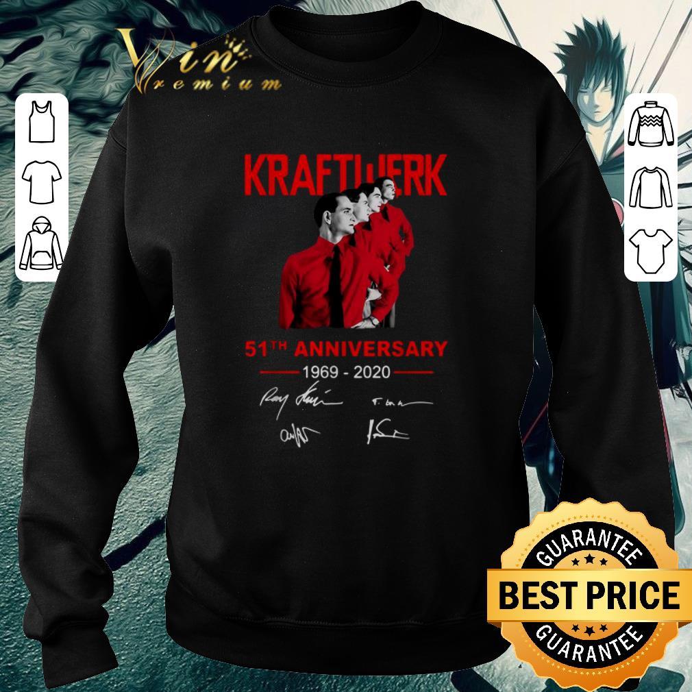 Pretty Kraftwerk 51th anniversary 1969-2020 signatures shirt