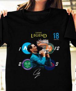 Pretty Living Legend 18 Grand Slam Rafael Nadal Signature shirt 1 1 247x296 - Pretty Living Legend 18 Grand Slam Rafael Nadal Signature shirt