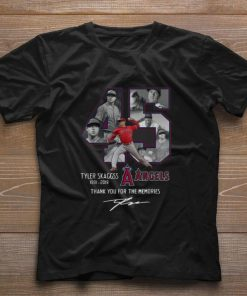 Pretty Los Angeles Angels 45 Tyler Skaggs Thank You For The Memories shirt 1 1 247x296 - Pretty Los Angeles Angels 45 Tyler Skaggs Thank You For The Memories shirt