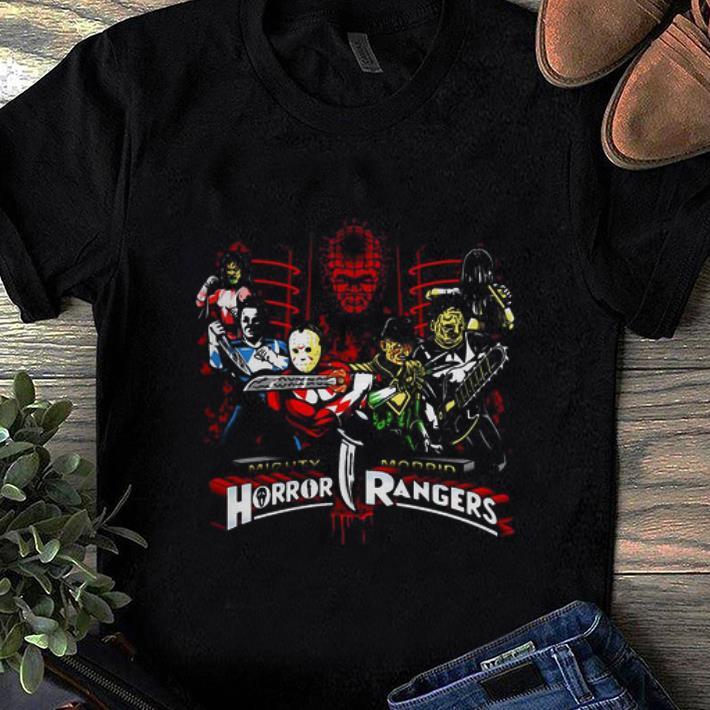 Pretty Mighty Morbid Horror Rangers Horror Character shirt