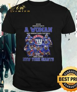 Pretty Never underestimate a woman football and loves New York Giants shirt 1 1 247x296 - Pretty Never underestimate a woman football and loves New York Giants shirt