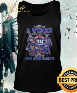 Pretty Never underestimate a woman football and loves New York Giants shirt 2 1 247x296 - Pretty Never underestimate a woman football and loves New York Giants shirt