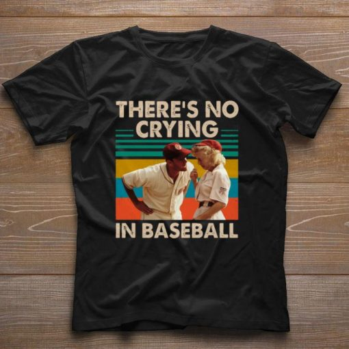 Tom Hanks There s no crying in baseball vintage shirt 1 1 510x510 - Tom Hanks There's no crying in baseball vintage shirt