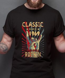 Top Classic Since 1969 And Still Rockin shirt 2 1 247x296 - Top Classic Since 1969 And Still Rockin shirt