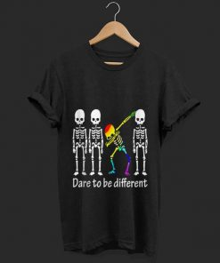 Top Dare To Be Different Skull Skeleton LGBT Dabbing shirt 1 1 247x296 - Top Dare To Be Different Skull Skeleton LGBT Dabbing shirt