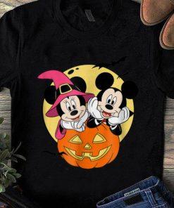 Top Disney Mickey and Minnie Halloween shirt 1 1 247x296 - Top Disney Mickey and Minnie Halloween shirt
