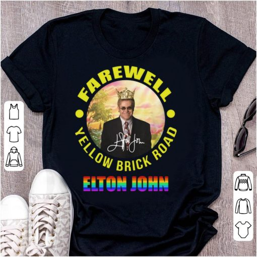 Top Elton John Farewell Yellow Brick Road Signature LGBT shirt 1 1 510x510 - Top Elton John Farewell Yellow Brick Road Signature LGBT shirt