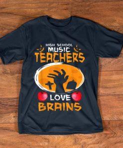 Top High School Music Teachers Love Brains Halloween Gift shirt 1 1 247x296 - Top High School Music Teachers Love Brains - Halloween Gift shirt