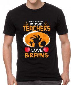 Top High School Music Teachers Love Brains Halloween Gift shirt 2 1 247x296 - Top High School Music Teachers Love Brains - Halloween Gift shirt