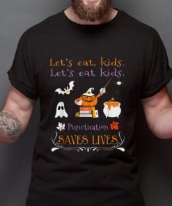 Top Let s Eat Kids Punctuation Saves Lives Funny Halloween shirt 2 1 247x296 - Top Let's Eat Kids Punctuation Saves Lives Funny Halloween shirt