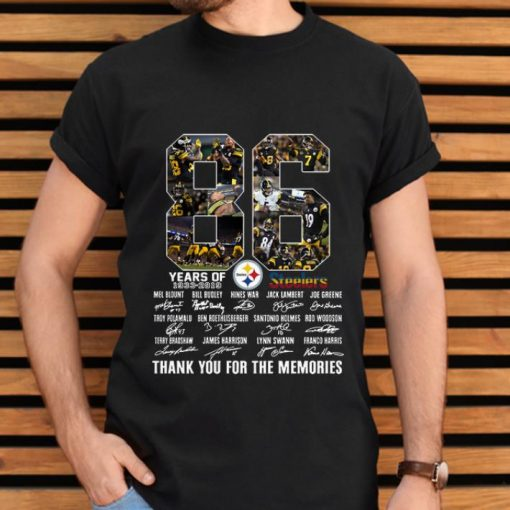 Top Pittsburgh Steelers 86th Anniversary 1933 2019 Signatures shirt 2 1 510x510 - Top Pittsburgh Steelers 86th Anniversary 1933-2019 Signatures shirt
