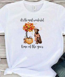 Top Pumpkin Labrador it s the most wonderful time of the year shirt 1 1 247x296 - Top Pumpkin & Labrador it's the most wonderful time of the year shirt