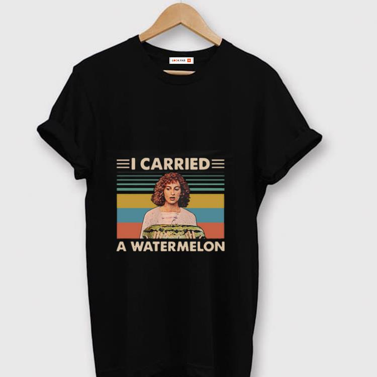 newest collection 5dfe1 3c1d4 Top Vintage I Carried A Watermelon Dirty Dancing shirt