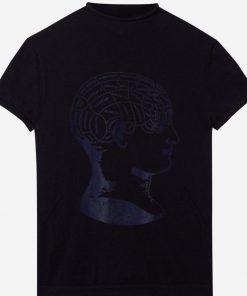 Top Vintage Phrenology Anatomy Brain Skull Diagram Tee shirt 1 1 247x296 - Top Vintage Phrenology Anatomy Brain Skull Diagram Tee shirt