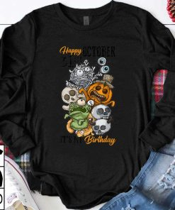 Awesome Happy October 31st It s My Birthday Funny Halloween Bday shirt 1 1 247x296 - Awesome Happy October 31st It's My Birthday Funny Halloween & Bday shirt
