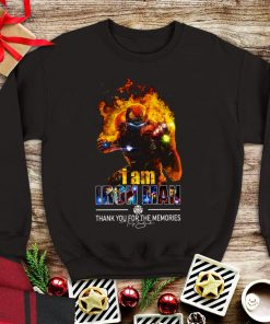 Awesome I Am Iron Man Thank You For The Memories Avengers Endgame shirt 1 1 247x296 - Awesome I Am Iron Man Thank You For The Memories Avengers Endgame shirt