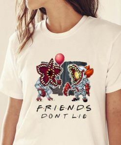 Awesome Pennywise Demogorgon Friends Don t Lie shirt 2 1 247x296 - Awesome Pennywise Demogorgon Friends Don't Lie shirt