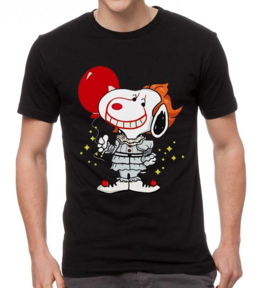 Awesome Snoopy Pennywise IT Balloon Stephen King shirt 2 1 510x578 - Awesome Snoopy Pennywise IT Balloon Stephen King shirt