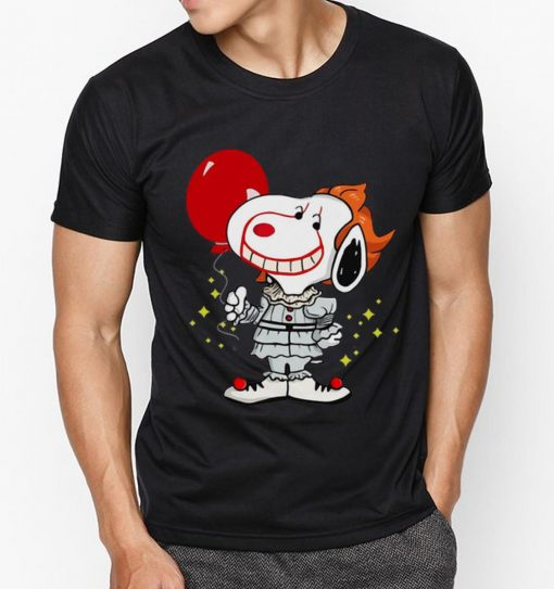 Awesome Snoopy Pennywise IT Balloon Stephen King shirt 3 1 510x543 - Awesome Snoopy Pennywise IT Balloon Stephen King shirt