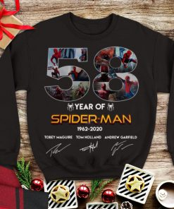 Awesome Spider Man 58 Years 1962 2020 Signatures shirt 1 1 247x296 - Awesome Spider Man 58 Years 1962-2020 Signatures shirt