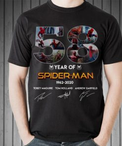 Awesome Spider Man 58 Years 1962 2020 Signatures shirt 2 1 247x296 - Awesome Spider Man 58 Years 1962-2020 Signatures shirt
