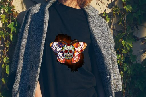 Awesome Sugar Skull Butterfly Day Of The Death Multiple Sclerosis shirt 2 1 510x341 - Awesome Sugar Skull Butterfly Day Of The Death Multiple Sclerosis shirt