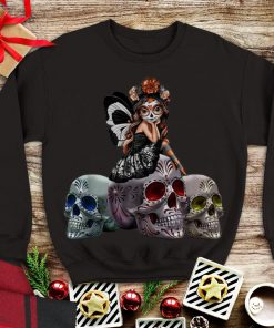 Awesome Sugar Skull Butterfly Girl shirt 1 1 247x296 - Awesome Sugar Skull Butterfly Girl shirt