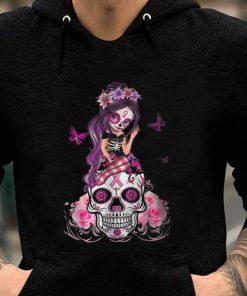 Awesome Sugar Skull Pink Ribbon Breast Cancer Awareness Flower Skulls shirt 2 1 247x296 - Awesome Sugar Skull Pink Ribbon Breast Cancer Awareness Flower Skulls shirt