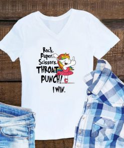 Awesome Unicorn Ballet Rock Paper Scissors Throat Punch I Win shirt 1 1 247x296 - Awesome Unicorn Ballet Rock Paper Scissors Throat Punch I Win shirt