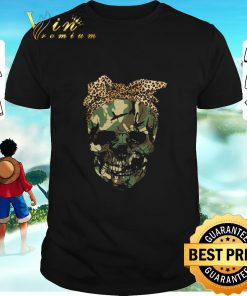 Awesome Veteran skull wearing bandana leopard shirt 1 1 247x296 - Awesome Veteran skull wearing bandana leopard shirt