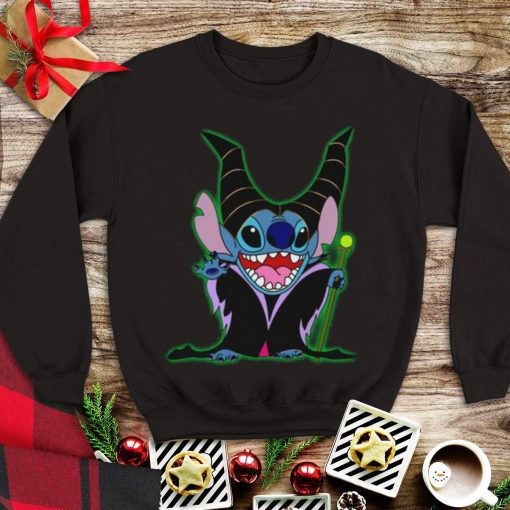 Awesome Witch Maleficent Stitch shirt 1 1 510x510 - Awesome Witch Maleficent Stitch shirt