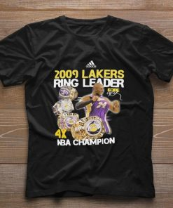Funny Adidas 2009 Lakers Ring Leader Kobe Bryant NBA Champion shirt 1 1 247x296 - Funny Adidas 2009 Lakers Ring Leader Kobe Bryant NBA Champion shirt