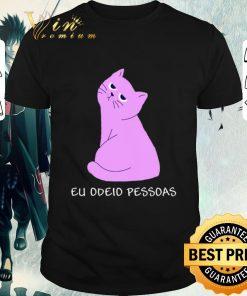 Funny Cat Eu Odeio Pessoas shirt 1 1 247x296 - Funny Cat Eu Odeio Pessoas shirt