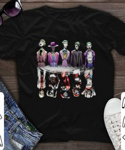 Funny Joker reflection mirror water Harley Quinn shirt 1 1 247x296 - Funny Joker reflection mirror water Harley Quinn shirt
