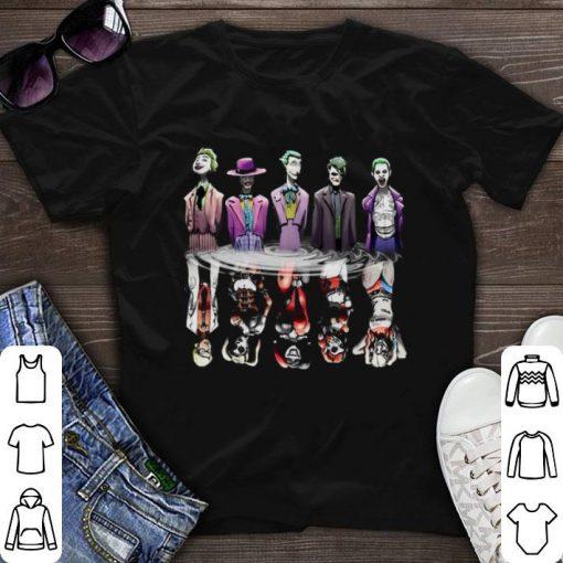 Funny Joker reflection mirror water Harley Quinn shirt 1 1 510x510 - Funny Joker reflection mirror water Harley Quinn shirt