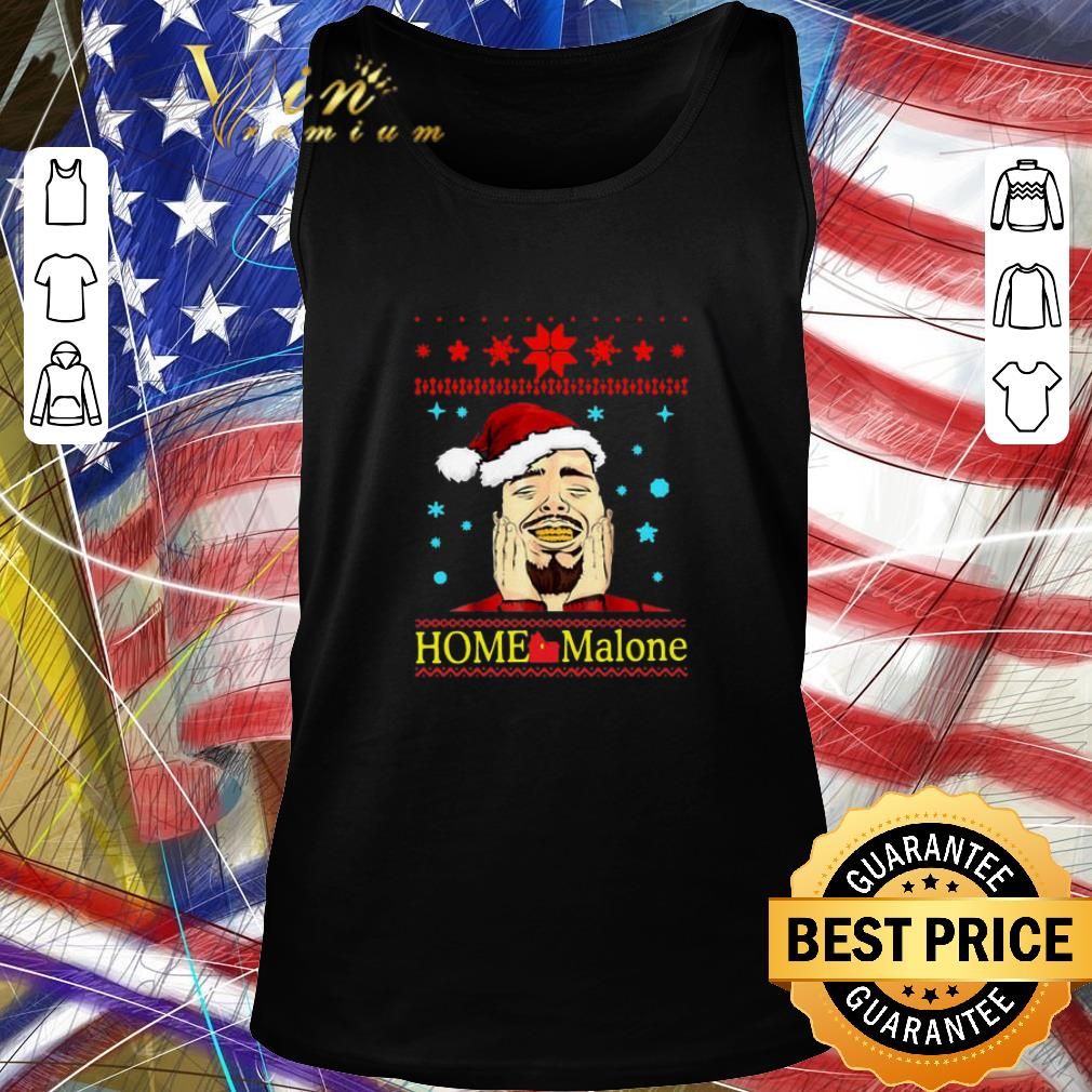 Funny Post Malone Home Malone Christmas 2019 Shirt