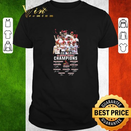 Funny St Louis Cardinals 2019 NL central division champions signatures shirt 1 1 510x510 - Funny St Louis Cardinals 2019 NL central division champions signatures shirt