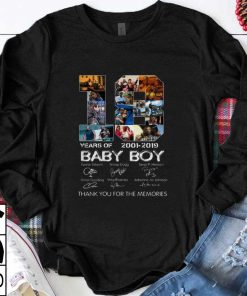 Hot Baby Boy 18 Years of 2001 2019 thank you for the memories shirt 1 1 247x296 - Hot Baby Boy 18 Years of 2001 2019 thank you for the memories shirt