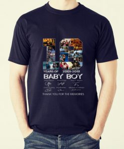 Hot Baby Boy 18 Years of 2001 2019 thank you for the memories shirt 2 1 247x296 - Hot Baby Boy 18 Years of 2001 2019 thank you for the memories shirt