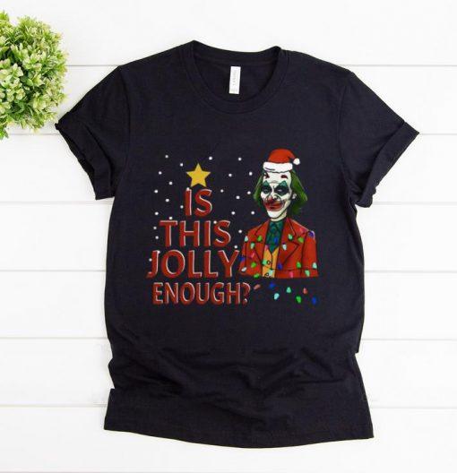 Hot Is This Jolly Enough Santa Joker shirt 1 1 510x528 - Hot Is This Jolly Enough Santa Joker shirt