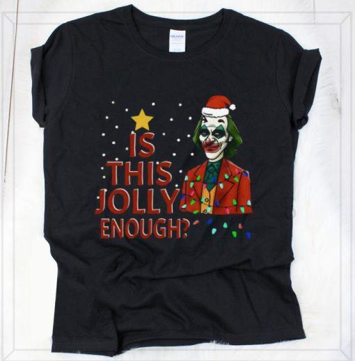 Hot Is This Jolly Enough Santa Joker shirt 2 1 510x519 - Hot Is This Jolly Enough Santa Joker shirt